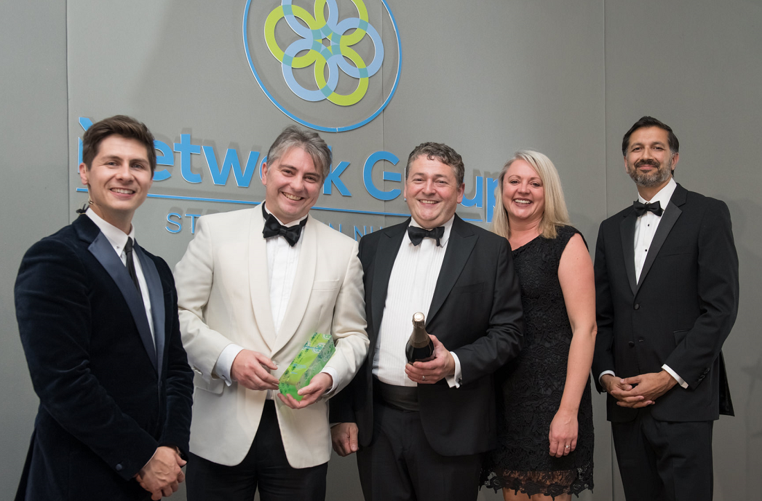 Aabyss Winners of the 2021 Large MSP of the Year at the Network Group Awards